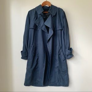 ARITZIA | BABATON LAWSON OPEN FRONT TRENCH COAT